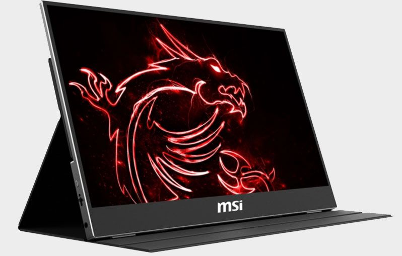 MSI Will Launch Portable Optix MAG161 240Hz Gaming Monitor at CES 2020