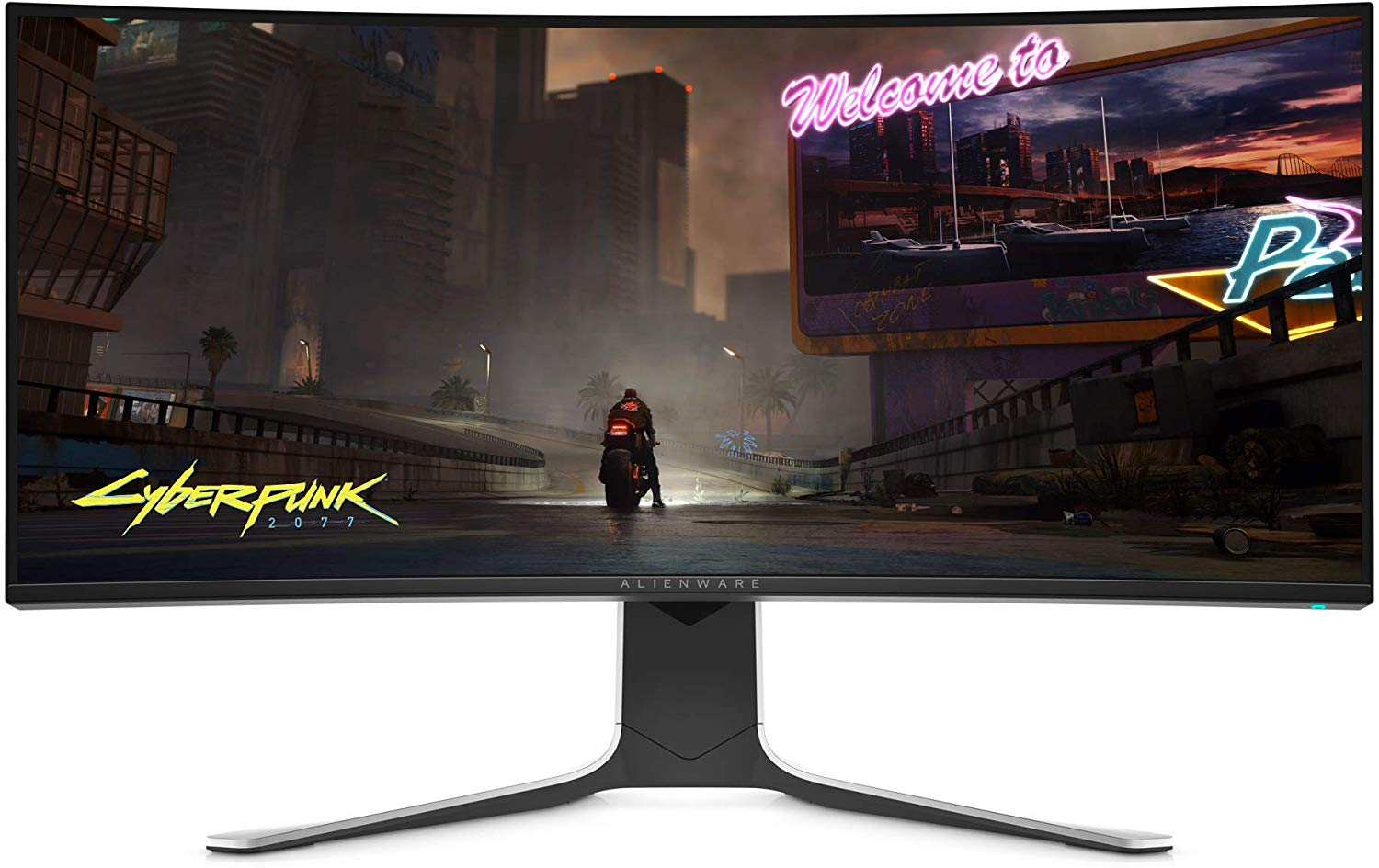 The New 34-inch 120Hz Alienware Curved Gaming Monitor with Nvidia G-Sync Support is $450 Cheaper