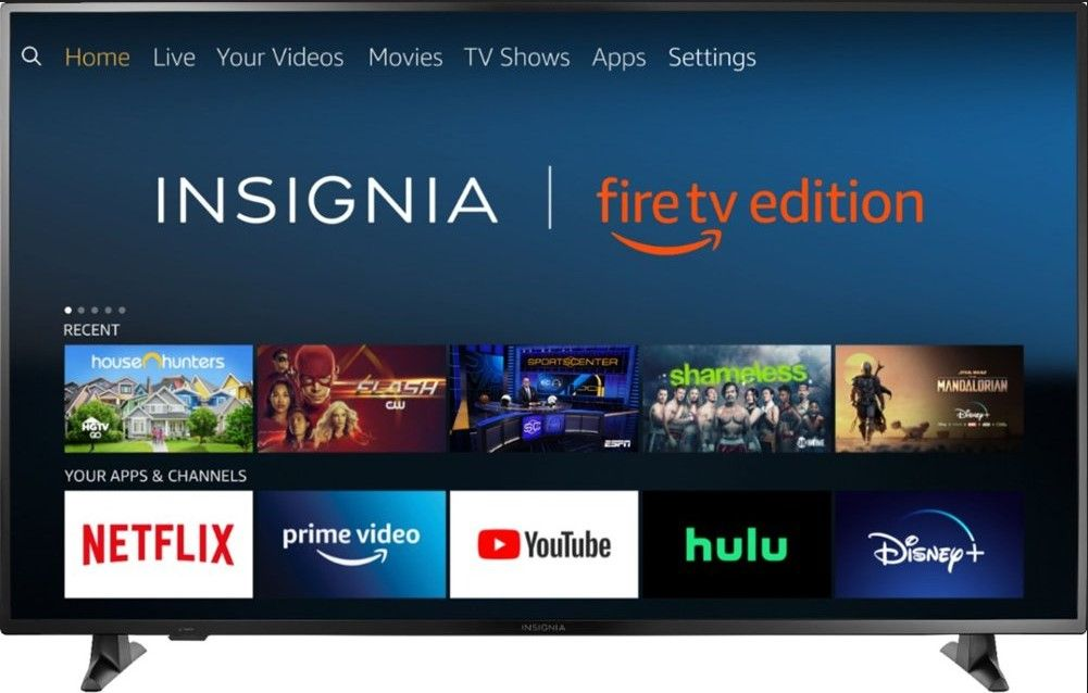 50-Inch Insignia NS-50DF710NA19 4K UltraHD HDR Fire TV Available on a Discounted Deal from Amazon