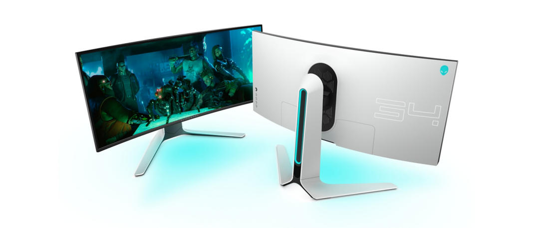 The Alienware AW3420DW 1440p UltraWide 120Hz Gaming Monitor Price Drops to $1000 for the first time