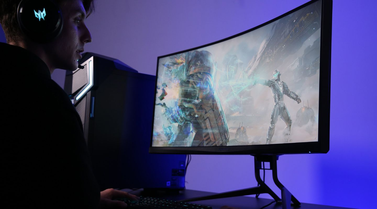 """Acer Predator X35 QuadHD 35"""" G-Sync Monitor with DisplayHDR1000 Price Drops Again"""