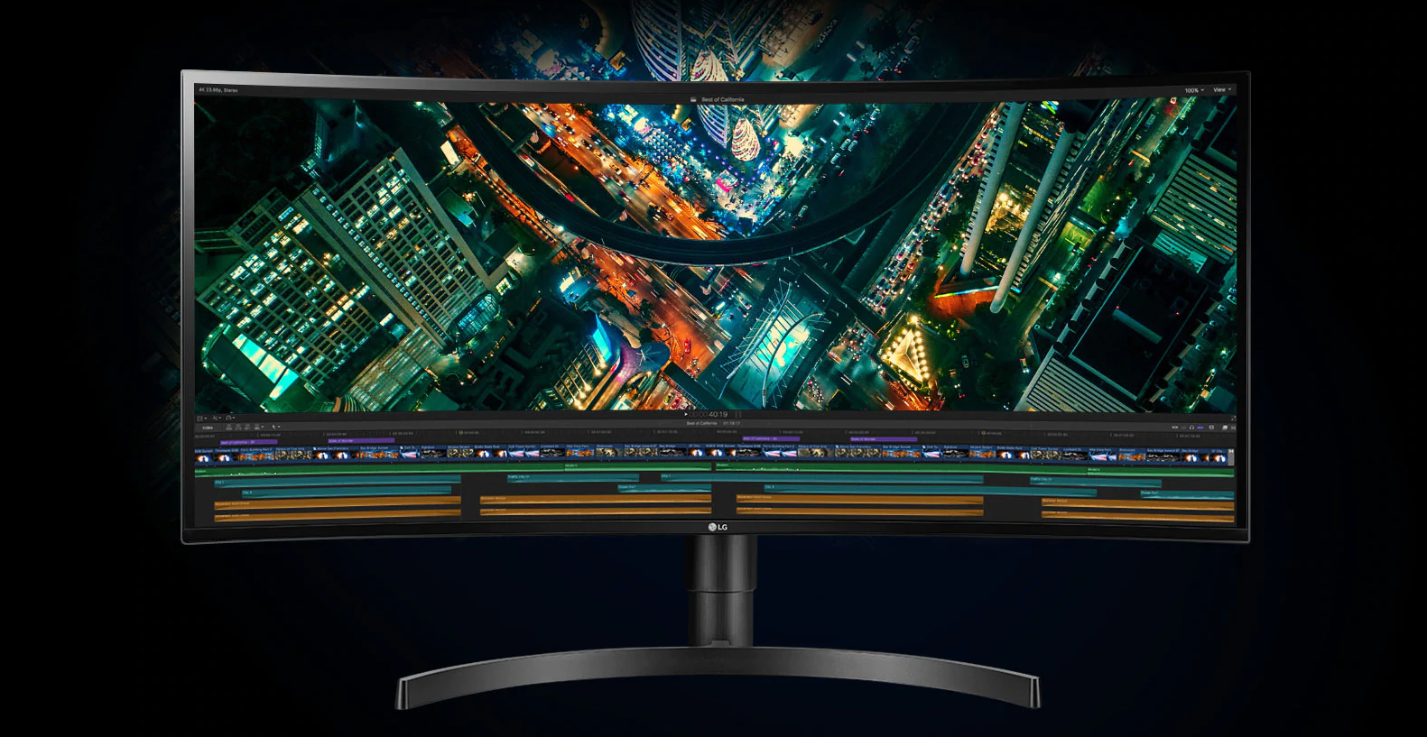 The LG 34WN80C-B UltraWide USB-C 1440p Ultrawide professional monitor is $550