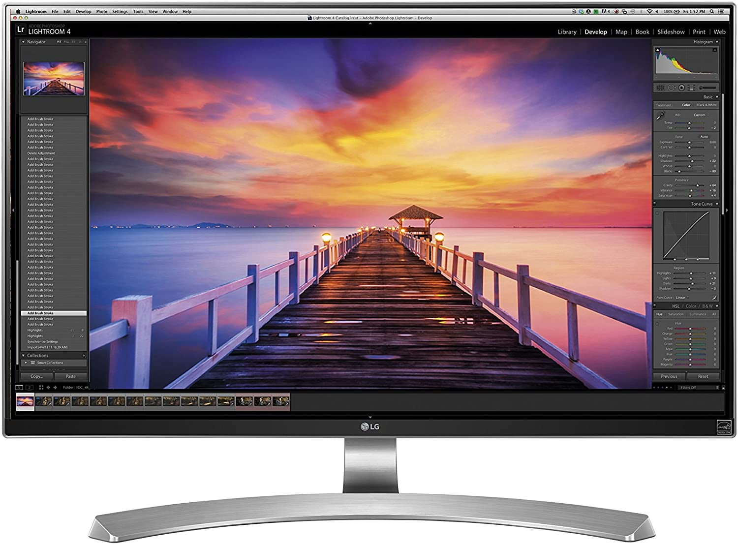 "27"" LG UD88-W 4K UHD Professional Monitor with USB Type-C is now priced at $446"