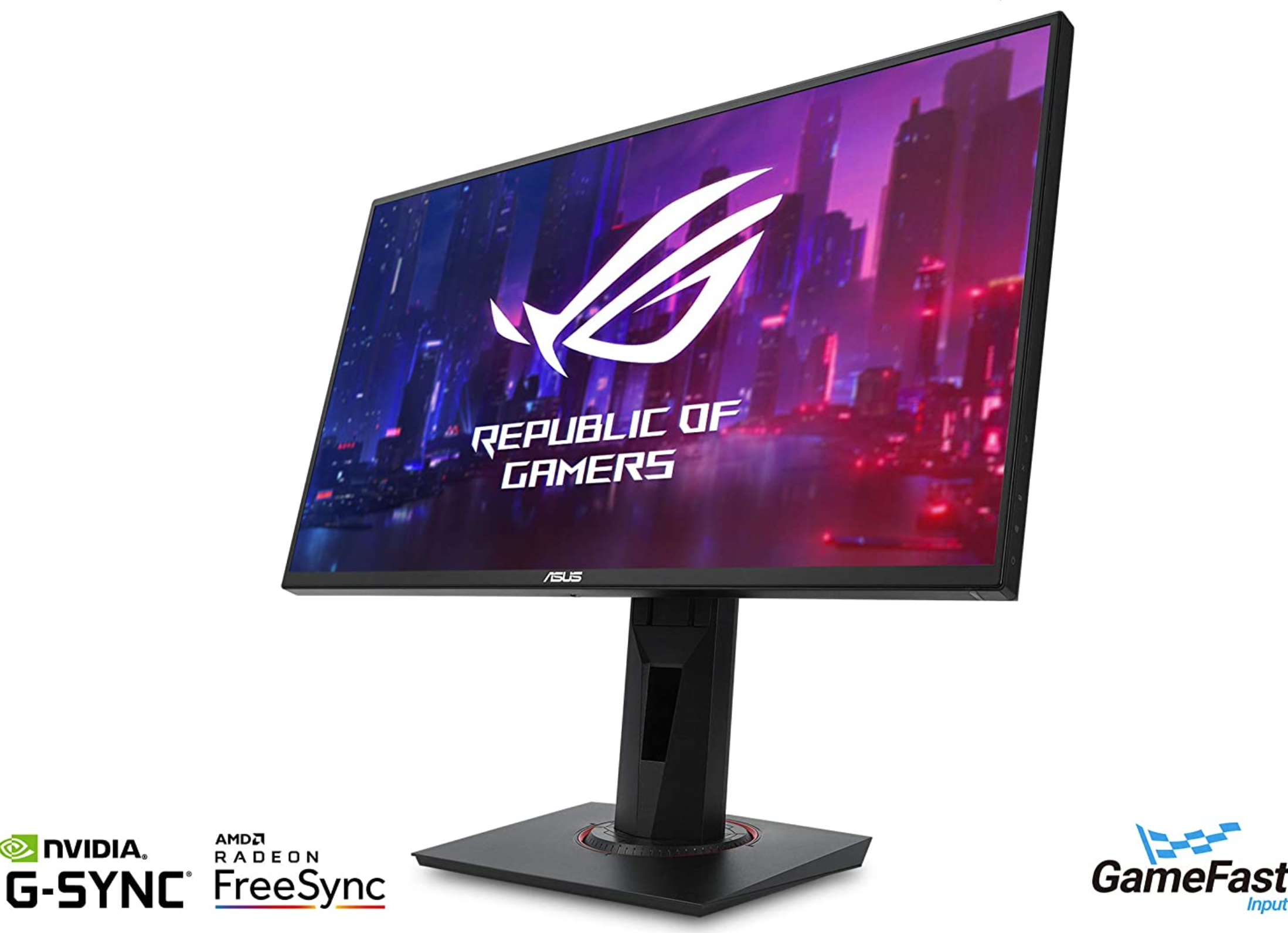 """24"""" ASUS VG258QR 1080p, 144Hz, G-Sync Gaming Monitor with 0.5ms ELMB Response Time is now $219"""